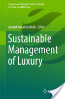 Sustainable Management of Luxury book cover